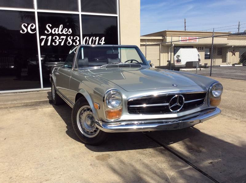 1969 Mercedes-Benz 280-Class for sale at SC SALES INC in Houston TX
