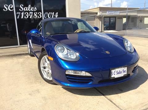 2009 Porsche Boxster For Sale In Houston Tx