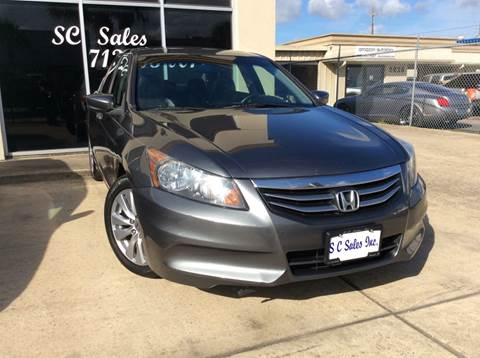 2011 Honda Accord for sale at SC SALES INC in Houston TX