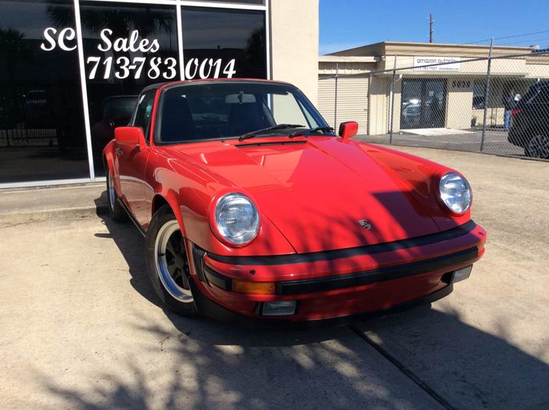 1985 Porsche 911 for sale at SC SALES INC in Houston TX