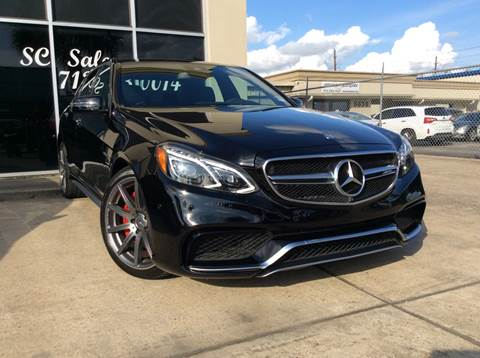 2015 Mercedes-Benz E-Class for sale at SC SALES INC in Houston TX