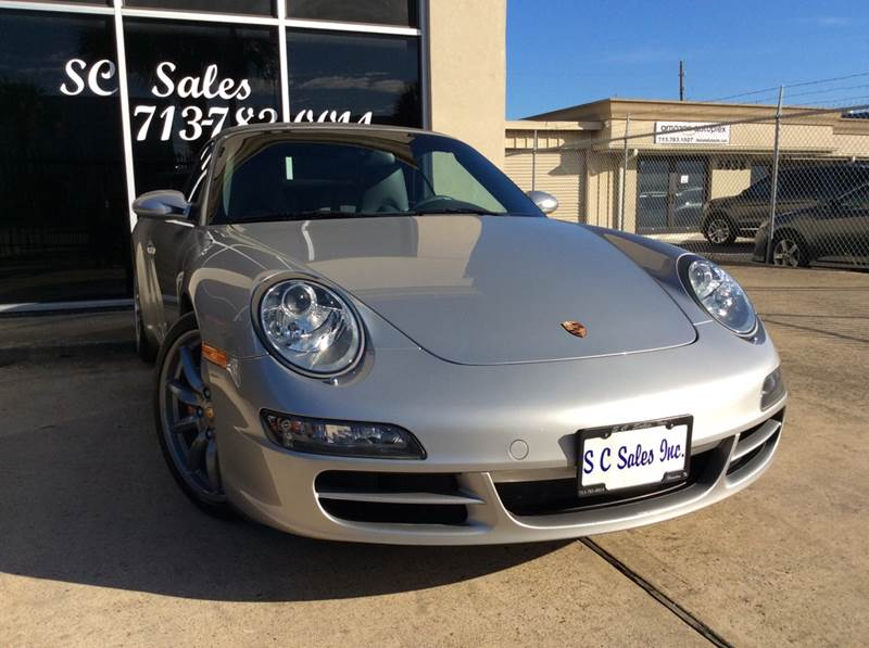 2008 Porsche 911 for sale at SC SALES INC in Houston TX