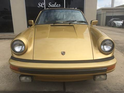 1979 Porsche 911 for sale at SC SALES INC in Houston TX