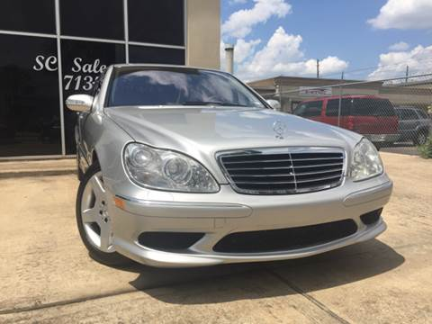 2004 Mercedes-Benz S-Class for sale at SC SALES INC in Houston TX