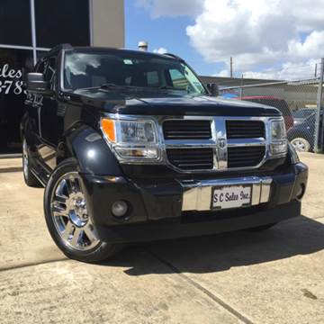 2007 Dodge Nitro for sale at SC SALES INC in Houston TX