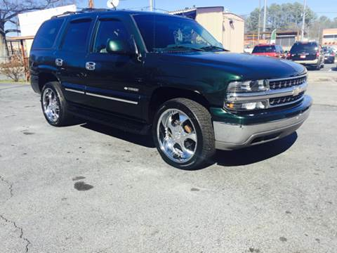 2003 Chevrolet Tahoe for sale at Atlas Auto Sales in Smyrna GA