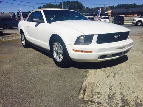 2007 Ford Mustang for sale at Atlas Auto Sales in Smyrna GA
