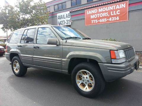 1996 Jeep Grand Cherokee for sale at Sand Mountain Motors in Fallon NV