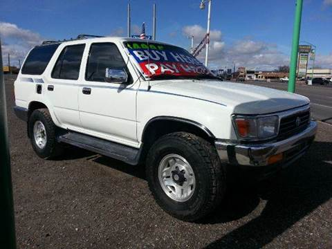 1994 Toyota 4Runner for sale at Sand Mountain Motors in Fallon NV