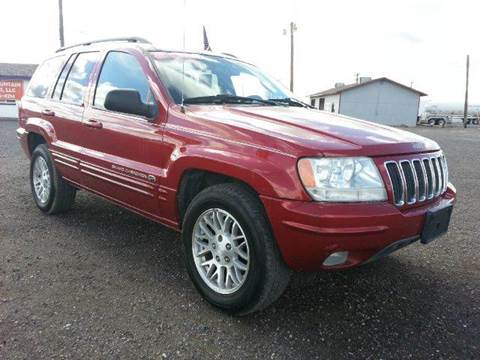 2002 Jeep Grand Cherokee for sale at Sand Mountain Motors in Fallon NV