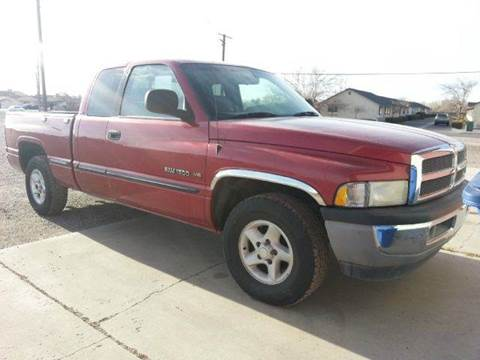 1999 Dodge Ram Pickup 1500 for sale at Sand Mountain Motors in Fallon NV