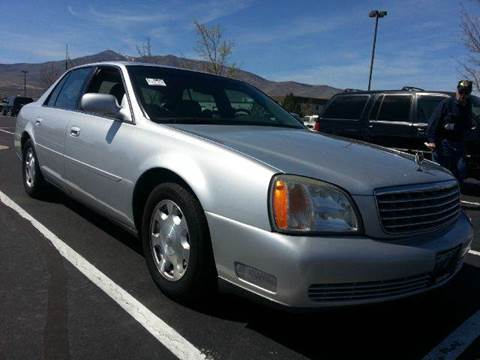 2002 Cadillac DeVille for sale at Sand Mountain Motors in Fallon NV