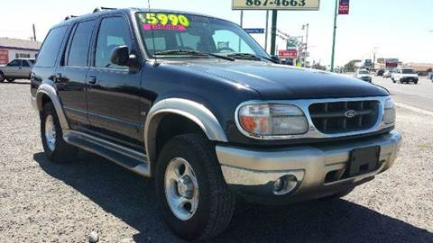 2001 Ford Explorer for sale at Sand Mountain Motors in Fallon NV