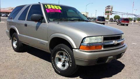 2004 Chevrolet Blazer for sale at Sand Mountain Motors in Fallon NV