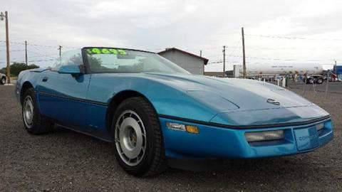 1987 Chevrolet Corvette for sale at Sand Mountain Motors in Fallon NV