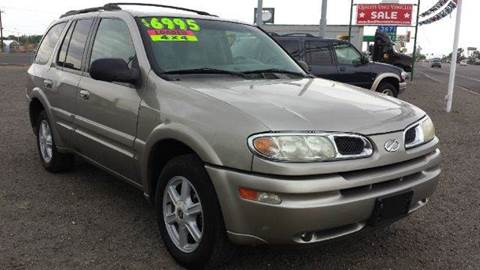 2002 Oldsmobile Bravada for sale at Sand Mountain Motors in Fallon NV