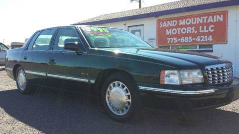 1999 Cadillac DeVille for sale at Sand Mountain Motors in Fallon NV