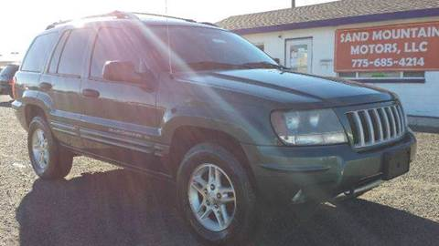 2004 Jeep Grand Cherokee for sale at Sand Mountain Motors in Fallon NV