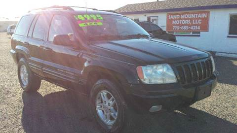 2000 Jeep Grand Cherokee for sale at Sand Mountain Motors in Fallon NV