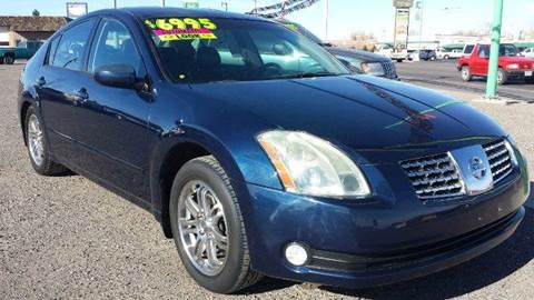 2004 Nissan Maxima for sale at Sand Mountain Motors in Fallon NV