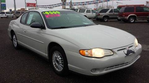 2003 Chevrolet Monte Carlo for sale at Sand Mountain Motors in Fallon NV