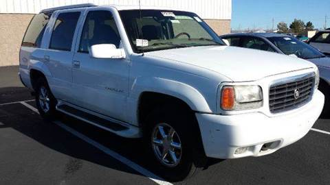 1999 Cadillac Escalade for sale at Sand Mountain Motors in Fallon NV