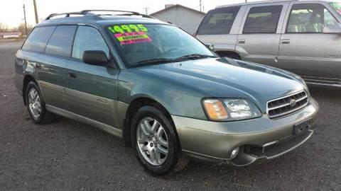 2001 Subaru Legacy for sale at Sand Mountain Motors in Fallon NV