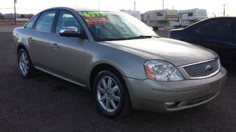 2006 Ford Five Hundred for sale at Sand Mountain Motors in Fallon NV