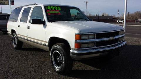 1999 Chevrolet Suburban for sale at Sand Mountain Motors in Fallon NV