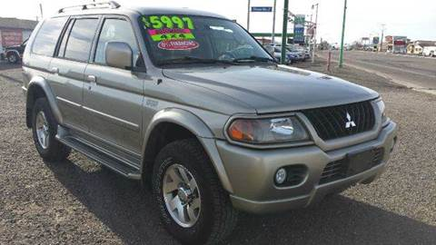 2003 Mitsubishi Montero Sport for sale at Sand Mountain Motors in Fallon NV