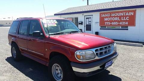 1997 Ford Explorer for sale at Sand Mountain Motors in Fallon NV