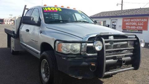 2005 Dodge Ram Pickup 3500 for sale at Sand Mountain Motors in Fallon NV