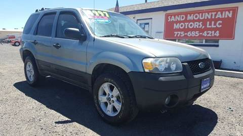 2006 Ford Escape for sale at Sand Mountain Motors in Fallon NV