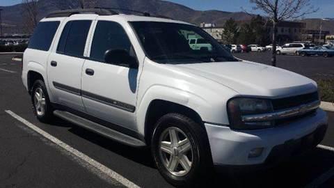2002 Chevrolet TrailBlazer for sale at Sand Mountain Motors in Fallon NV