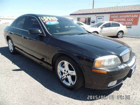 2002 Lincoln LS for sale at Sand Mountain Motors in Fallon NV