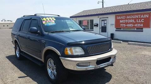 1998 Ford Expedition for sale at Sand Mountain Motors in Fallon NV