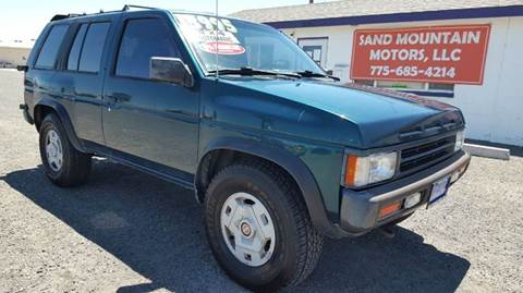 1995 Nissan Pathfinder for sale at Sand Mountain Motors in Fallon NV