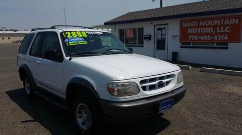 1998 Ford Explorer for sale at Sand Mountain Motors in Fallon NV