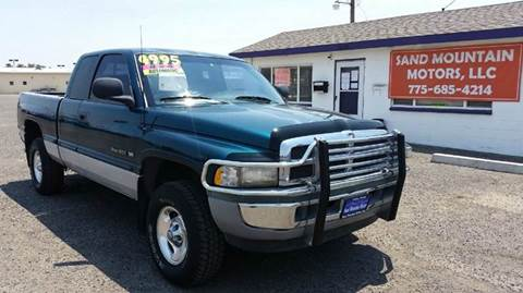 1998 Dodge Ram Pickup 1500 for sale at Sand Mountain Motors in Fallon NV