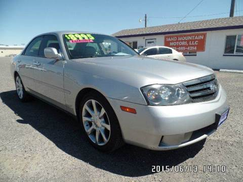 2003 Infiniti M45 for sale at Sand Mountain Motors in Fallon NV