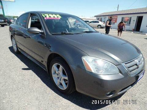 2004 Nissan Altima for sale at Sand Mountain Motors in Fallon NV