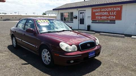 2005 Hyundai Sonata for sale at Sand Mountain Motors in Fallon NV