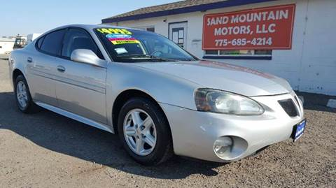 2005 Pontiac Grand Prix for sale at Sand Mountain Motors in Fallon NV