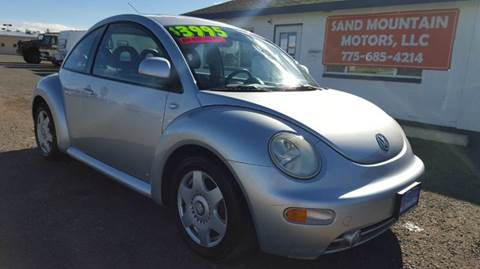 2000 Volkswagen New Beetle for sale at Sand Mountain Motors in Fallon NV