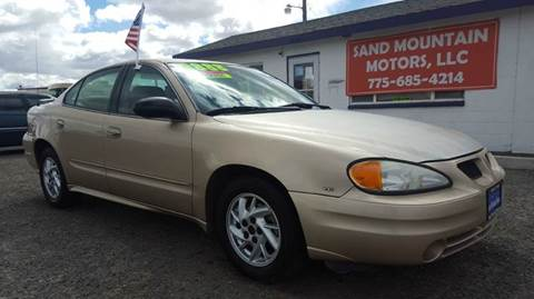 2004 Pontiac Grand Am for sale at Sand Mountain Motors in Fallon NV