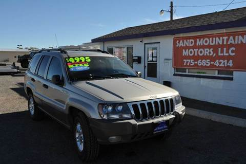2003 Jeep Grand Cherokee for sale at Sand Mountain Motors in Fallon NV
