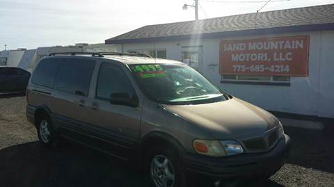 2003 Pontiac Montana for sale at Sand Mountain Motors in Fallon NV