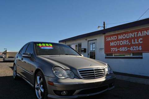 2006 Mercedes-Benz C-Class for sale at Sand Mountain Motors in Fallon NV