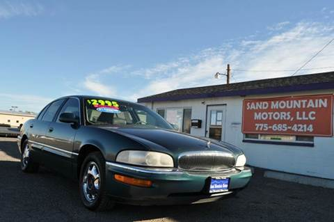 1997 Buick Park Avenue for sale at Sand Mountain Motors in Fallon NV