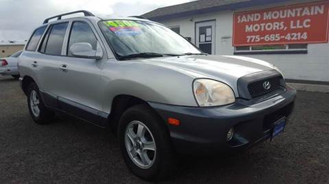 2004 Hyundai Santa Fe for sale at Sand Mountain Motors in Fallon NV